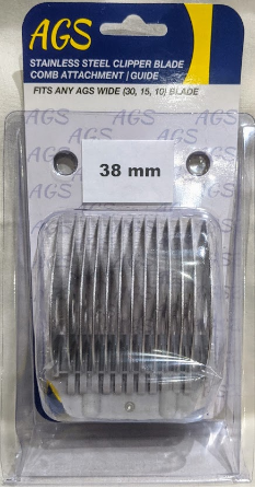 "AGS 1"" Detachable Stainless Steel Comb for Wide Blades"