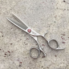 Mirage Orca Double Teethed Thinning Shear