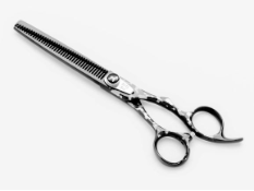 Dirty Dog Curved Pet Grooming Thinning Shear