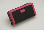 Shisato Double Zippered Pink Shear Case