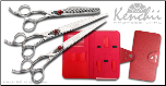 Kenchii Spider Left Handed Grooming Shear Set