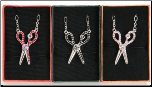 Magnetic Clasped Scissor Charm Necklace