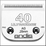 Andis Ultra Edge 40 Clipper Blade