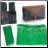 Dog Grooming Shear Set Case Options - Brown Polka Dot or Green